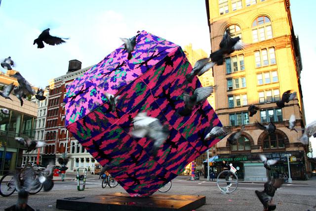 Astor Place Cube NY